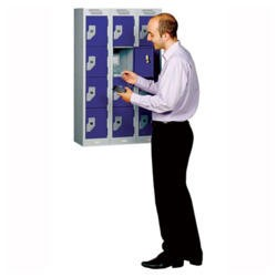IT Guardian Mini 12 Compartment Cabinet with key lock