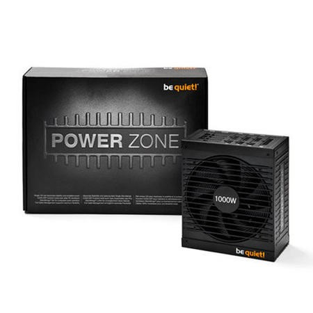 Be Quiet! 1000W Power Zone PSU Modular Fluid Dynamic Bearing Fan 80+ Bronze SLI/XFire Cont. Pow