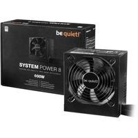 Be Quiet! System Power 600W 80 Plus Fully Modular Power Supply