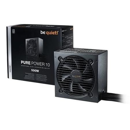 Be Quiet! Pure Power 10 500W 80 Plus Silver Non Modular Power Supply