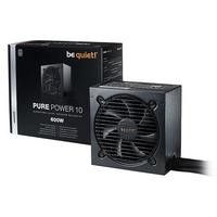 Be Quiet! Pure Power 10 600W 80 Plus Silver Non Modular Power Supply