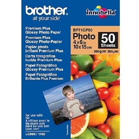 Brother BP - Glossy photo paper - 100 x 150 mm - 50 sheet(s)