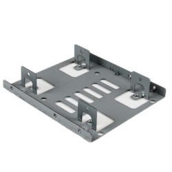 "StarTech Dual 2.5"" to 3.5"" HDD Bracket for SATA Hard Drives - 2 Drive 2.5"" to 3.5"" Bracket for M"
