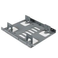 "StarTech Dual 2.5"" to 3.5"" HDD Bracket for SATA Hard Drives - 2 Drive 2.5"" to 3.5"" Bracket for Mount"