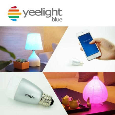 Yeelight Blue - Bluetooth controlled RGB LED Lamp B22 Bayonet