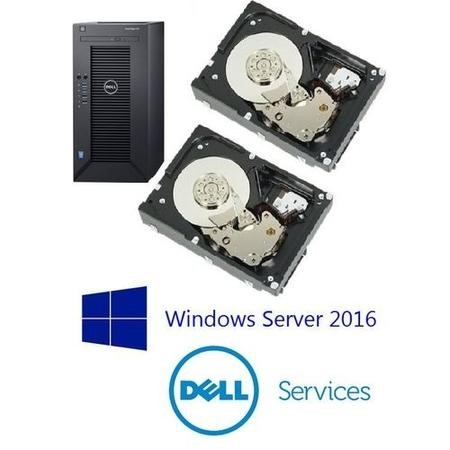 Dell Poweredge T30 Ready to Go File Server for Up To 10 Users Server 2016
