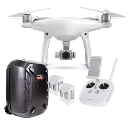 BUN/6958265112553/69394 DJI Phantom 4 Standard with Extra Battery & Free Hardshell Backpack