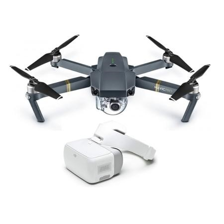 DJI Mavic Pro 4K Foldable Camera Drone with DJI Goggles