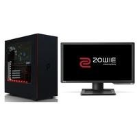 "StormForce Hurricane Core i7 16GB 1TB + 128GB SSD GTX 1060 Windows 10 Gaming Desktop + Zowie 24"" Full HD 144Hz Gaming Monitor"