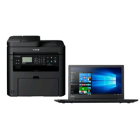"Lenovo V110 Core i3 4GB 128GB SSD DVD-RW 15.6"" Win 10 Laptop + Canon i-SENSYS All In One Wireless Laser Printer"