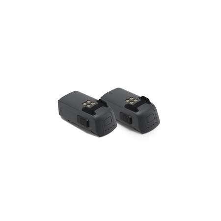 BUN/CP.PT.000789/69786 Two DJI Spark 1480mAh Rechargeable Intelligent Flight Batteries
