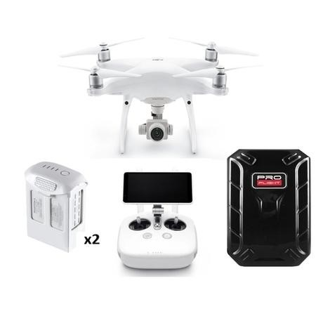 BUN/DJIP4PPLUS/69966 DJI Phantom 4 Pro Plus 4k with Extra Battery & Free Hard Shell Backpack