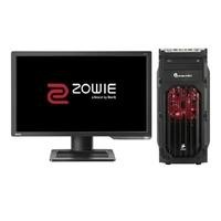 "PCS Core i5 8GB 1TB GTX 1060 DVD-RW Win 10 Gaming Desktop + Zowie 24"" Full HD 144Hz Gaming Monitor"