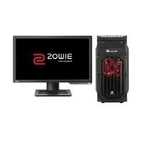 "PCS Core i7 16GB 2TB GTX 1070 DVD-RW Win 10 Gaming Desktop + Zowie 24"" Full HD 144Hz Gaming Monitor"