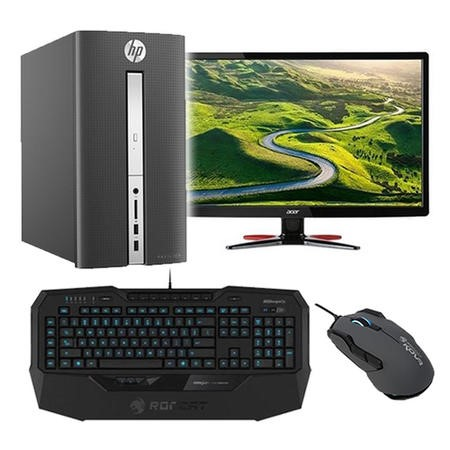 BUN/Z3H88EA/70066 Gaming PC Bundle - HP Pavilion 510 AMD A10-9700 8GB 1TB Radeon RX 460 Windows 10 Gaming PC