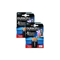 Duracell Ultra Power 9V 1 x 2 Pack Bundle