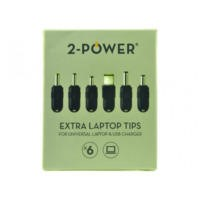 2-Power Universal tip Power Additional Tip Pack x6 19V - 20V