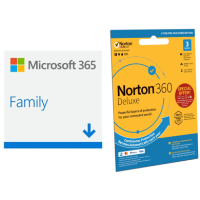 Microsoft Office 365 Home ESD & Norton Internet Security ESD Bundle
