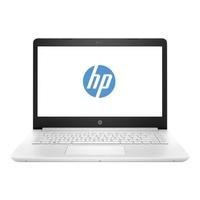"Refurbished HP 14-bp060sa 14"" Intel Core i3-6006U 2GHz 4GB 500GB Windows 10 in Snow White Laptop Bundle"
