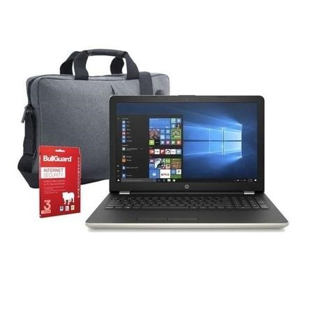 "Refurbished HP 15-bw066sa 15.6"" AMD A6-9220 4GB 1TB Windows 10 Laptop in Gold Laptop Bundle"
