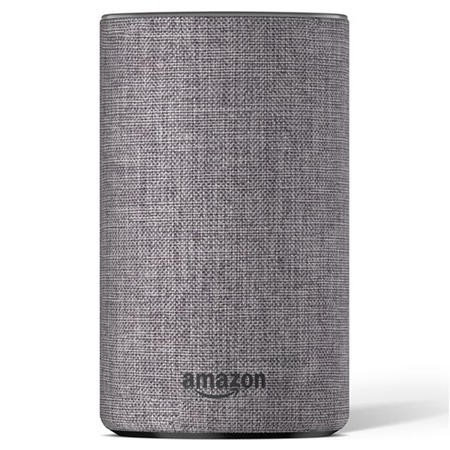 Amazon Echo 2nd Gen Smart Hub Heather Grey with FREE E27 Smart Bulb