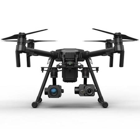 BUN/CP.HY.000050/70668 DJI Matrice 210 Drone with Zenmuse Z30 & Zenmuse XT2 336x256 30Hz 9mm Thermal Camera