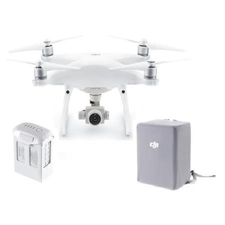 DJI Phantom 4 Advanced+ with Extra Battery & Silver Wrap