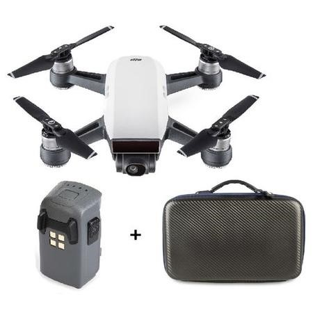 BUN/CP.PT.000746/69841 DJI Spark Alpine White with Extra Battery & Free Soft Shell Case