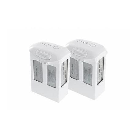 BUN/DJIP4B/69780 Two DJI Phantom 4 High Capacity Rechargeable Intelligent Flight Batteries