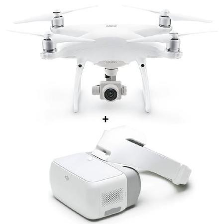 BUN/DJIP4PPLUS/70051 DJI Phantom 4 Pro Plus 4K Drone with Collision Avoidance + DJI Goggles