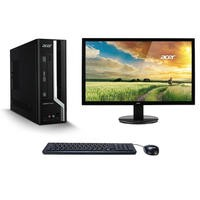 "Acer Veriton X4650G Core i5-6400 4GB 128GB SSD Win 10 Pro Desktop + Acer 24"" HDMI VGA Monitor Bundle"