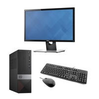 "Dell Vostro 3269 Core i5-7400 8GB 256GB SSD Win 10 Pro Desktop + Dell 22"" HDMI VGA Monitor Bundle"