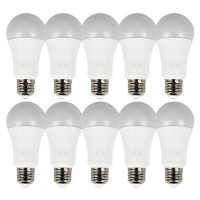 electriQ Smart dimmable colour Wifi Bulb with E27 screw ending - Alexa & Google Home compatible - 10 Pack