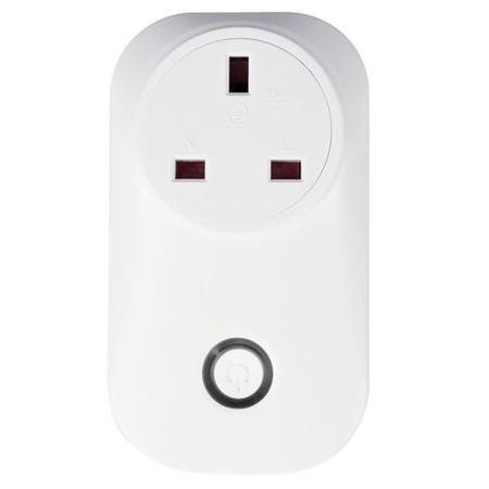electriQ Smart Plug - Remote control your Mains Plugs from anywhere - Alexa/Google Home compatible - Five Pack
