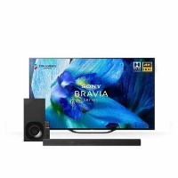 "Sony BRAVIA 55"" 4K Ultra HD Android Smart OLED TV with Soundbar & Wireless Subwoofer"