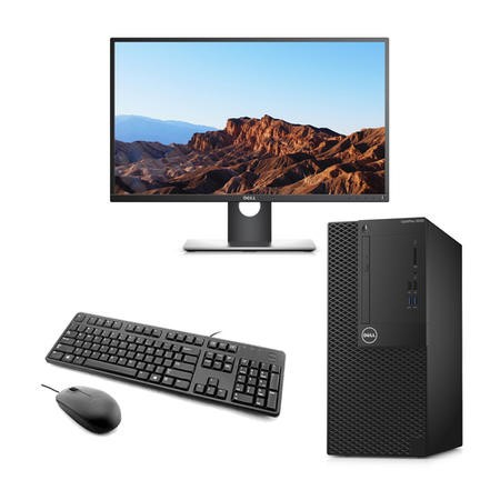 "BUN/NV7XX/70224 Dell OptiPlex 3050 Core i5-7500 8GB 1TB Win 10 Pro Desktop + Dell 22"" IPS HDMI Monitor Bundle"