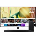 "BUN/QE55Q70TATXXU/77195 Samsung QE55Q70TATXXU 55"" 4K Ultra HD Smart QLED TV with Soundbar and Subwoofer"