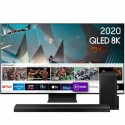 "BUN/QE75Q800TATXXU/77204 Samsung QE75Q800TATXXU 75"" 8K Ultra Sharp HD HDR10+ Smart QLED TV with Soundbar & Subwoofer"