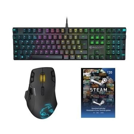 BUN/ROC-12-252/70214 Roccat Hardcore Bundle - FREE £20 STEAM WALLET