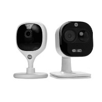Yale 1080p HD Outdoor Camera with 720p HD Indoor Camera - 2 Pack