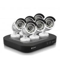 Swann CCTV System - 8 Channel 3MP DVR with 6 x 3MP Cameras & 2TB HDD