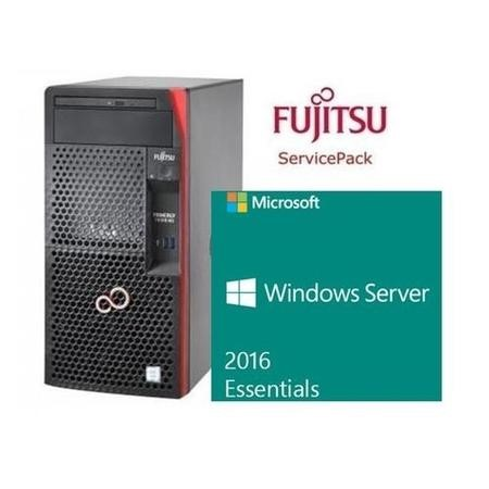 BUN/VFY:T1313SC030IN/70230 Fujitsu Cashback Bundle - TX1310 with Server Essentials 2016 & Extended Warranty