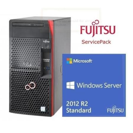 BUN/VFY:T1313SC030IN/70232 Fujitsu Cashback Bundle - TX1310 with Server Standard 2012 & Extended Warranty