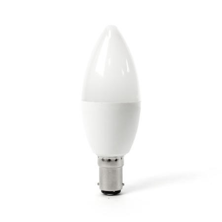 electriQ Smart dimmable colour Wifi Bulb with B15 bayonet ending - Alexa & Google Home compatible