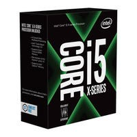 Intel Core i5-7640X Kaby Lake-X LGA 2066 Quad Core Unlocked Processor