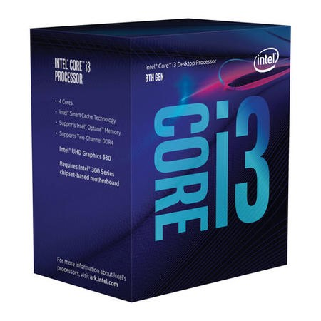 Intel Core i3 8300 Socket 1151 3.7Ghz Coffe Lake Processor