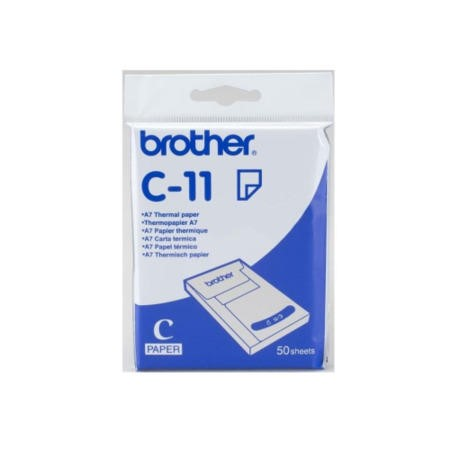 C11 Brother - Thermal paper - A7 74 x 105 mm - 50 sheets