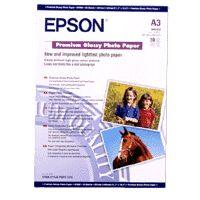 Epson Premium - glossy photo paper - 20 sheet(s)
