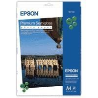 Epson Premium Semigloss Photo Paper - semi-gloss photo paper - 20 sheet(s)