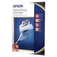 Epson Ultra Glossy Photo Paper - glossy photo paper - 15 sheet(s)